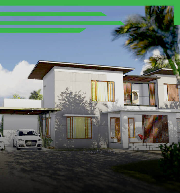 2700sqft Contemporary House design at Nileshwar